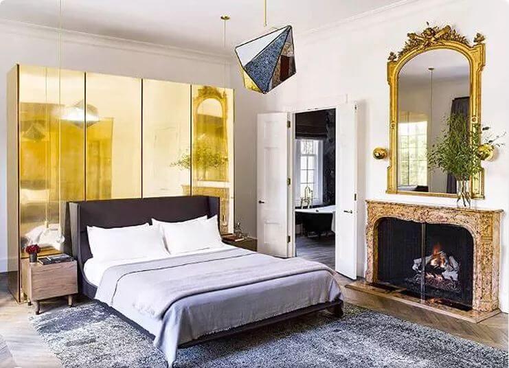 Phong cách hoàng gia sang chảnh - Nội thất phòng ngủ đẹp