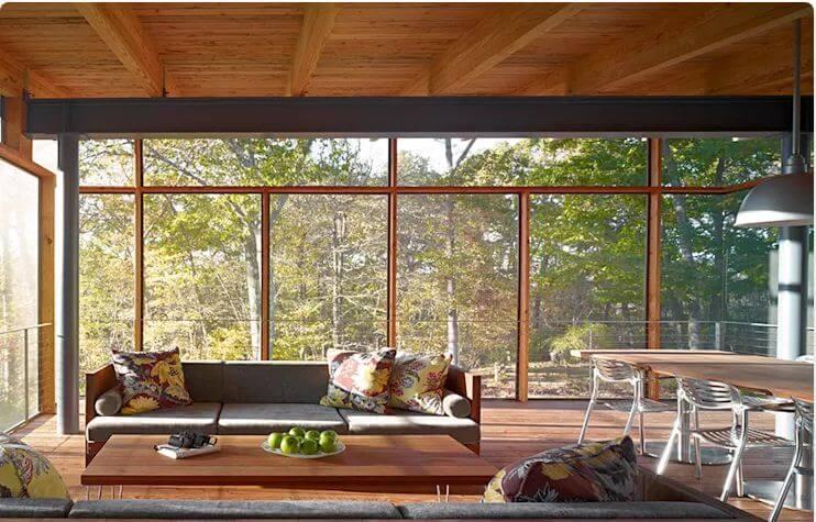 Ghế băng gỗ mộc mạc - Bàn ghế đẹp