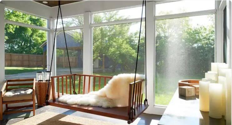 Ghế xích đu độc đáo - Bàn ghế đẹp