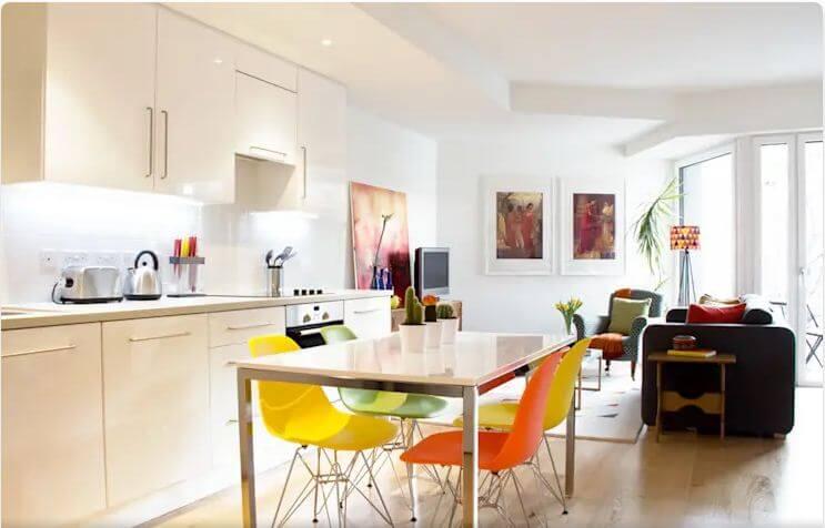 Căn bếp màu sắc - Thiết kế bếp hiện đại
