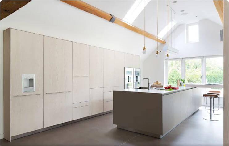 Căn bếp thoáng đãng - Thiết kế bếp hiện đại