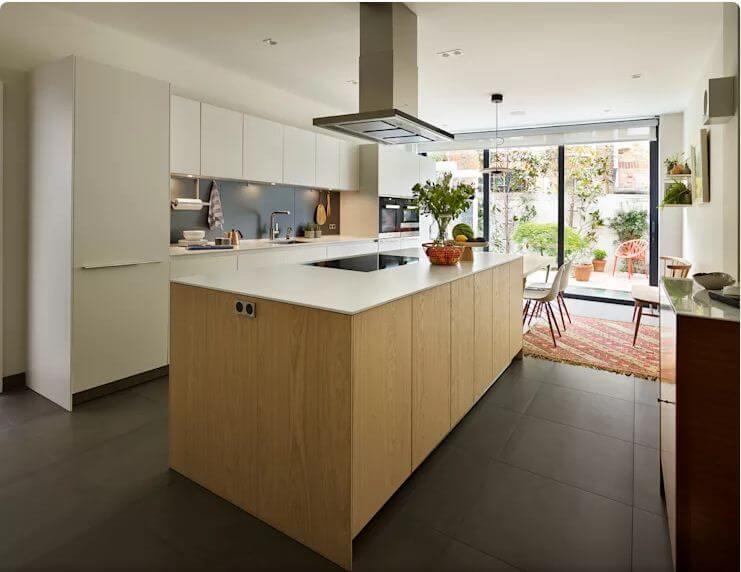 Hiệu quả với gỗ - Thiết kế bếp hiện đại