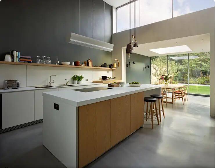 Đơn giản và hiện đại - Thiết kế bếp hiện đại