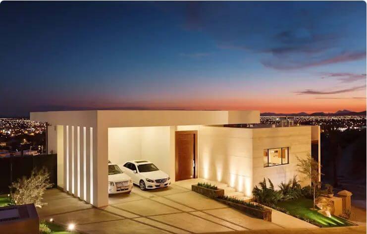 Thiết kế Gara cho ngôi nhà thanh lịch - Mặt tiền nhà đẹp