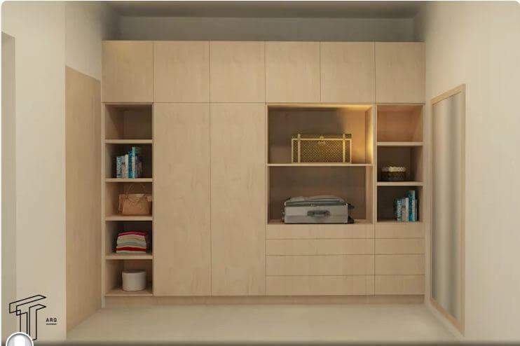 Chiếc tủ đáp ứng mọi nhu cầu - Thiết kế tủ gỗ