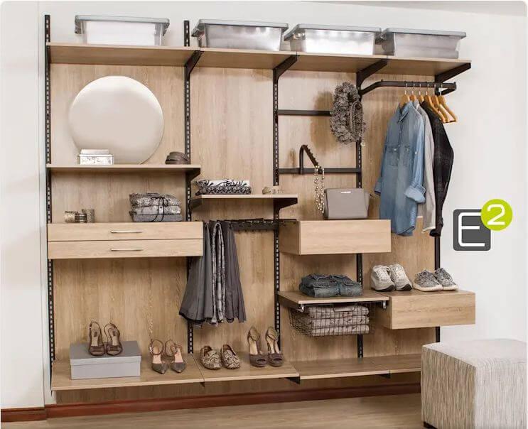 Một chiếc tủ mở thật đơn giản - Thiết kế tủ gỗ
