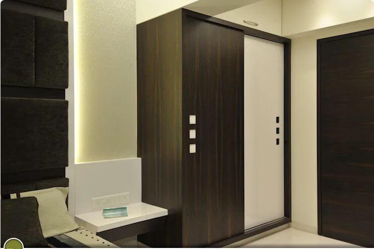 Chiếc tủ âm tường - Thiết kế tủ gỗ