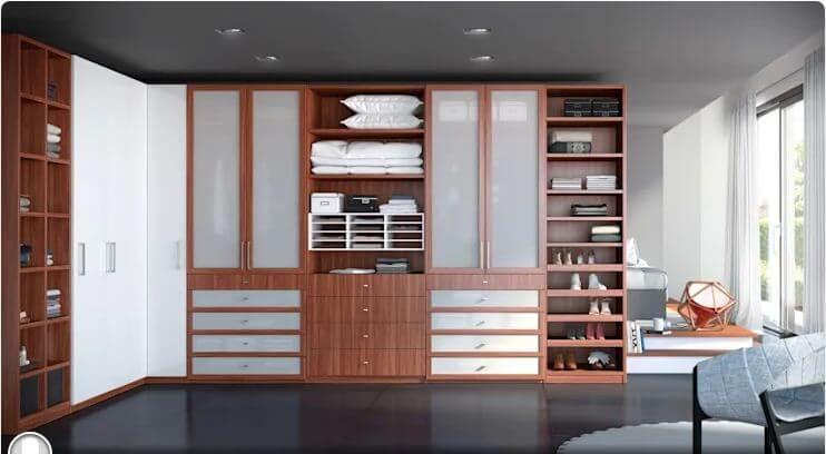 Tủ dành riêng cho phòng thay đồ - Thiết kế tủ gỗ