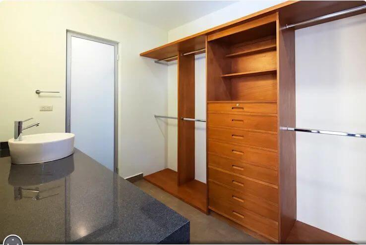 Tủ dành cho phòng tắm - Thiết kế tủ gỗ