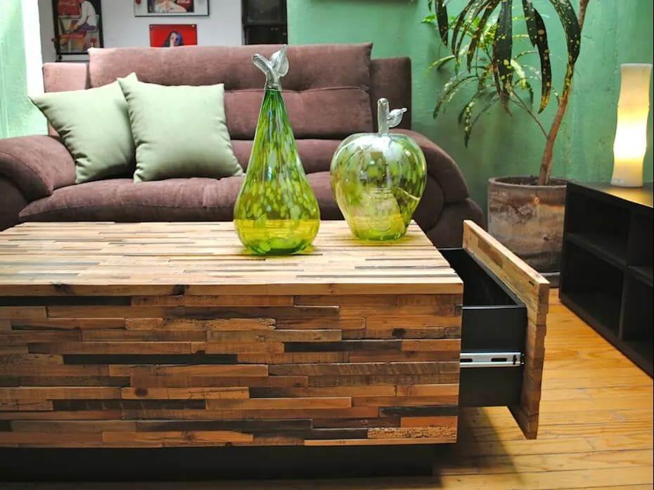 Mẫu bàn ghế gỗ nhỏ đẹp số 16
