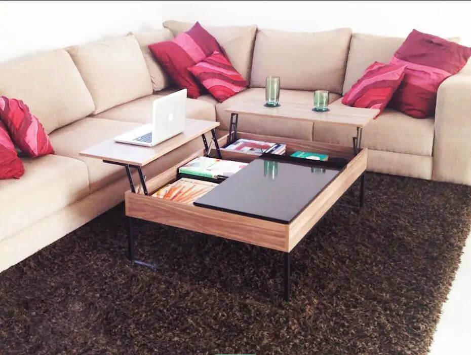 Mẫu bàn ghế gỗ nhỏ đẹp số 20