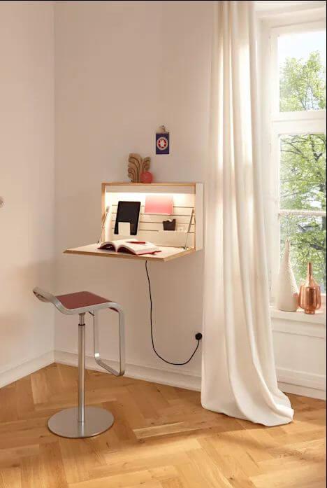 Mẫu bàn ghế gỗ nhỏ đẹp số 21