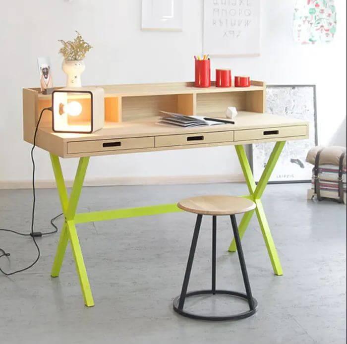 Mẫu bàn ghế gỗ nhỏ đẹp số 43