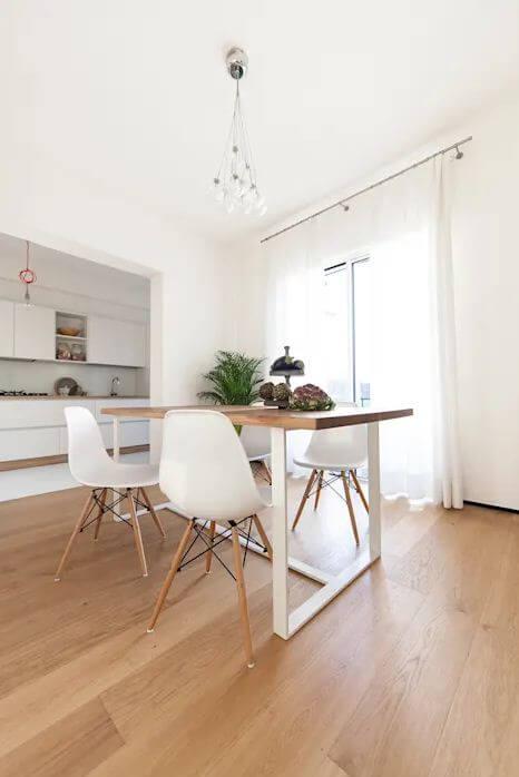 Mẫu bàn ghế gỗ nhỏ đẹp số 5