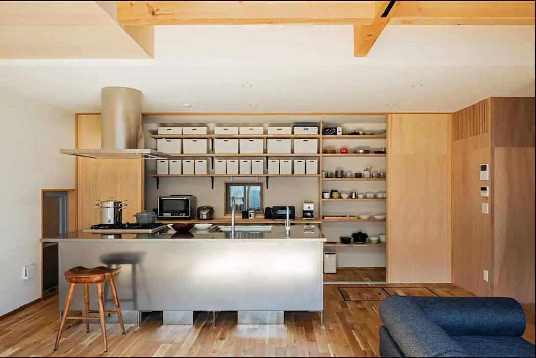 Tủ bếp tiện nghi - Mẫu tủ đóng đẹp