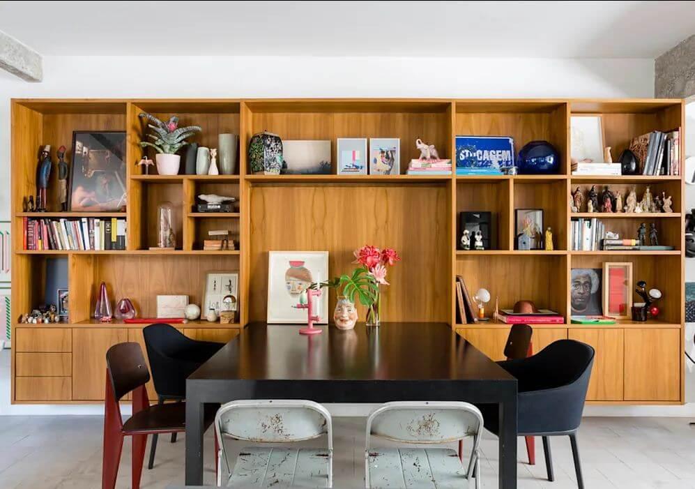 Tủ đóng kết hợp bàn ăn - Mẫu tủ đóng đẹp