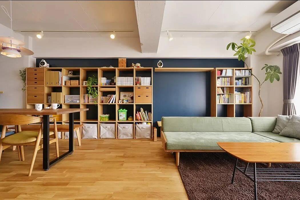 Tủ đóng đa năng cho phòng khách - Mẫu tủ đóng đẹp
