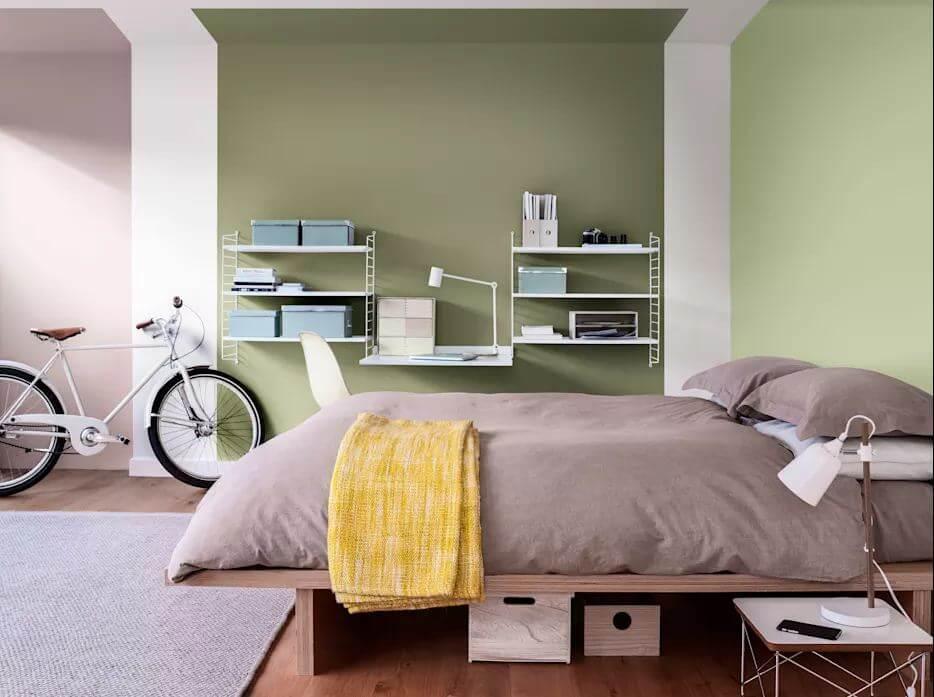 Gam màu Pastel - Phòng ngủ đẹp hiện đại