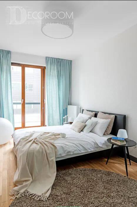 Xanh phớt - Phòng ngủ đẹp hiện đại