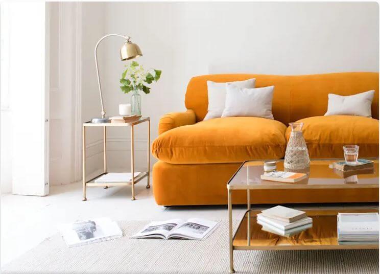Ghế đệm dài - Vật liệu nội thất
