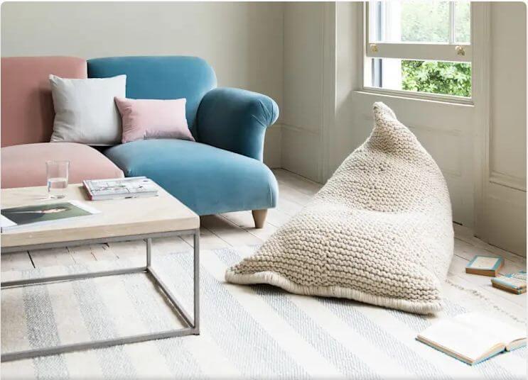 Đệm ngồi đơn - Vật liệu nội thất