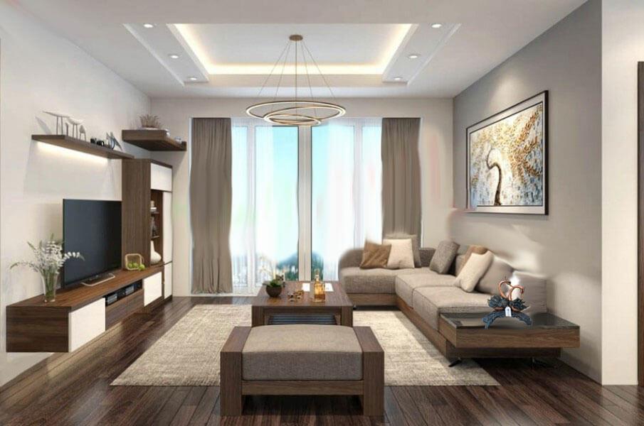 Đơn giản hóa phong cách yêu thích - Trang trí phòng khách đẹp