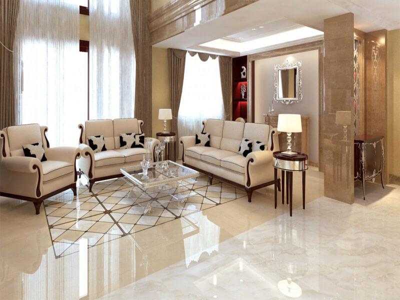 Pha trộn một chút hoài cổ hoặc mộc mạc - Trang trí phòng khách đẹp