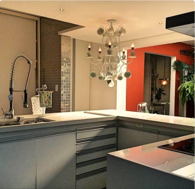 Bếp công nghiệp nhỏ gọn - Nhà bếp đẹp