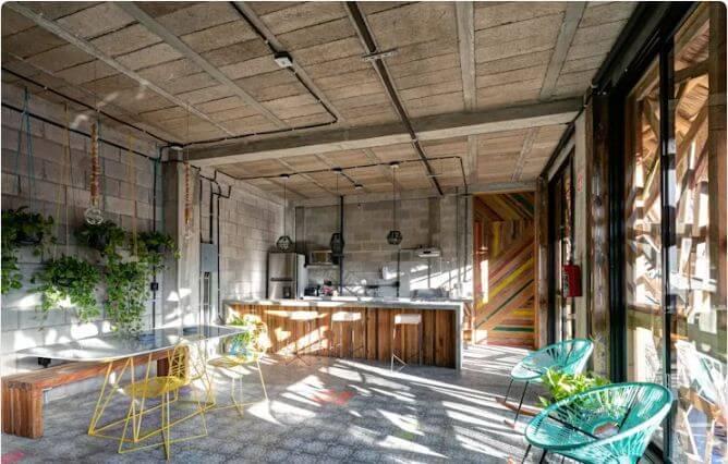 Nhà bếp với chất liệu gỗ - Nhà bếp đẹp