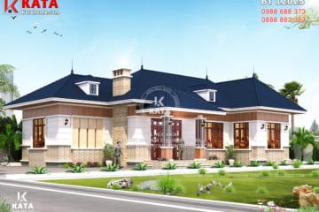 Mẫu nhà vườn 1 tầng 4 phòng ngủ tại Quảng Ninh - Mã số: BT 12025