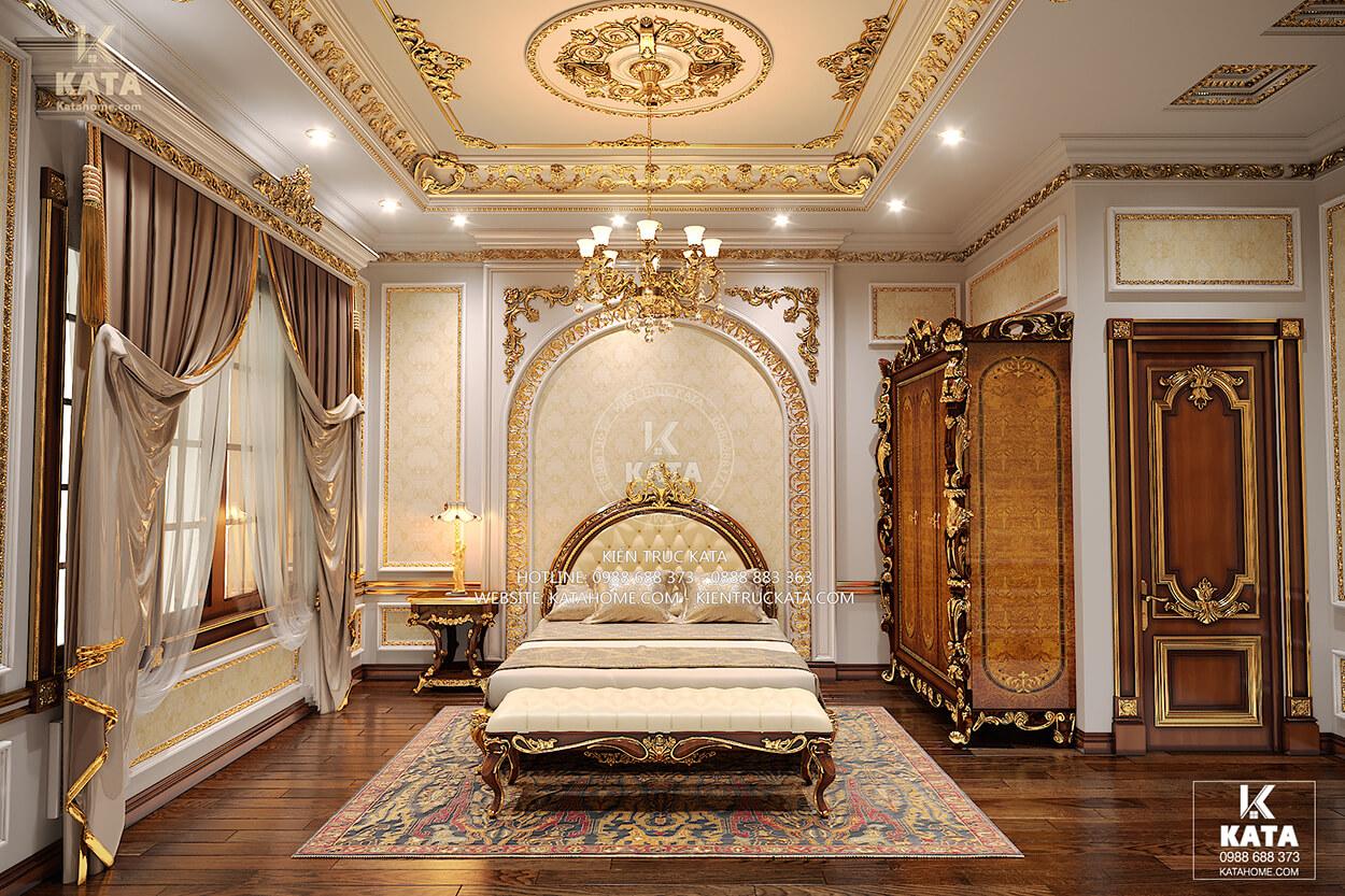 Phòng ngủ đẹp phong cách tân cổ điển