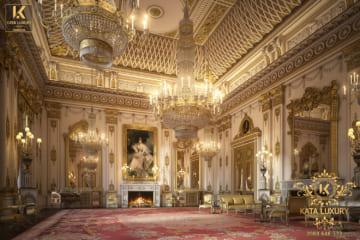 Thiết kế nội thất cung điện tân cổ điển đẹp