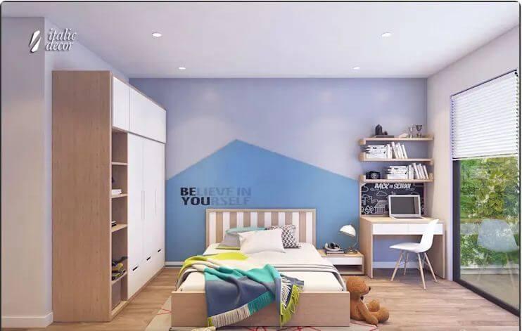 Phòng ngủ trẻ em sáng tạo - Biệt thự nhà vườn 218m2