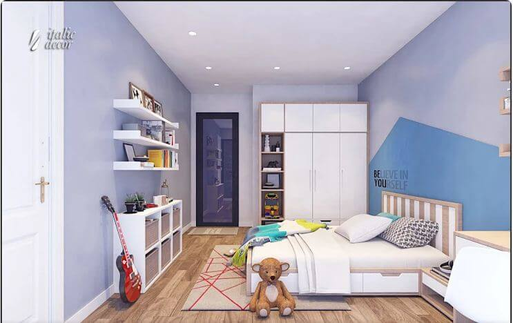Phòng ngủ trẻ em sáng tạo - Biệt thự nhà vườn 218m2 - 1