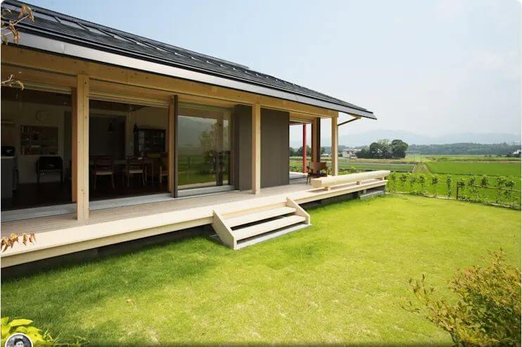 Nhà gỗ tối giản với không gian mở - Các mẫu nhà đẹp