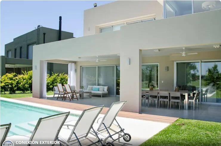 Ngôi nhà màu trắng hiện đại - Các mẫu nhà đẹp
