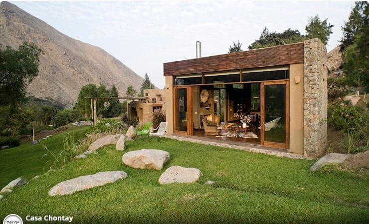 Một ngôi nhà thô ráp cho những người yêu thiên nhiên - Các mẫu nhà đẹp