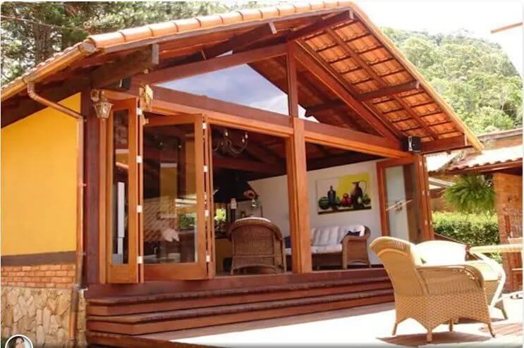 Nhà nghỉ dưỡng bằng gỗ - Các mẫu nhà đẹp