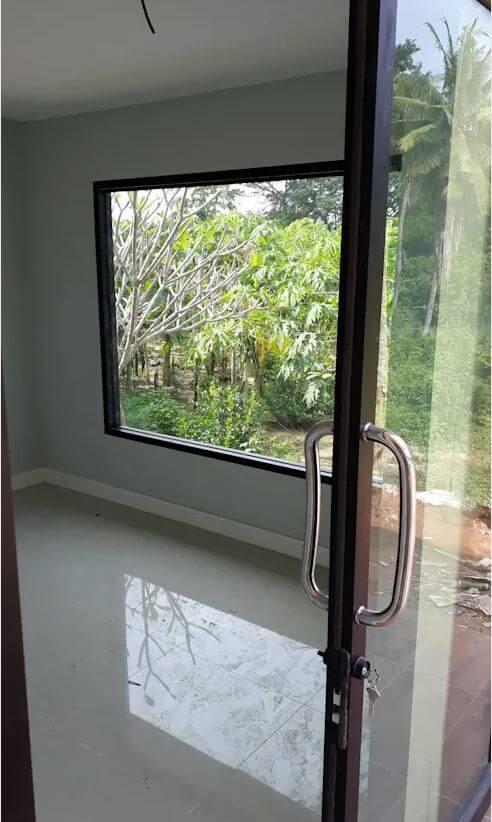Thiết kế cửa - Xây nhà trệt 3 gian 70m2