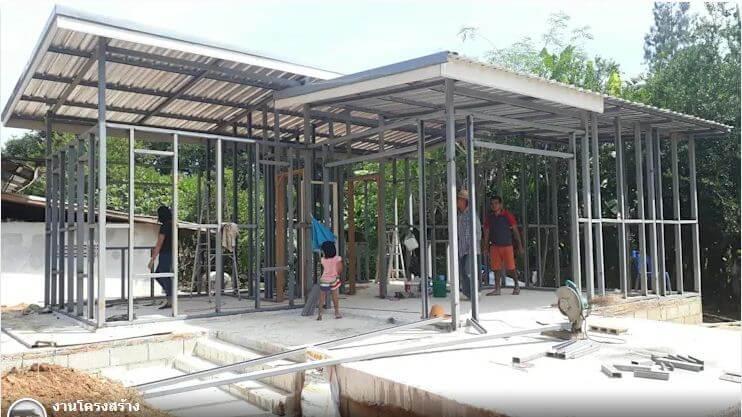 Cấu trúc ổn định - Xây nhà trệt 3 gian 70m2