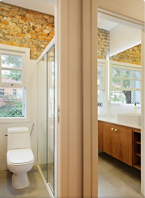 Phòng vệ sinh - Mẫu nhà nhỏ 2 tầng