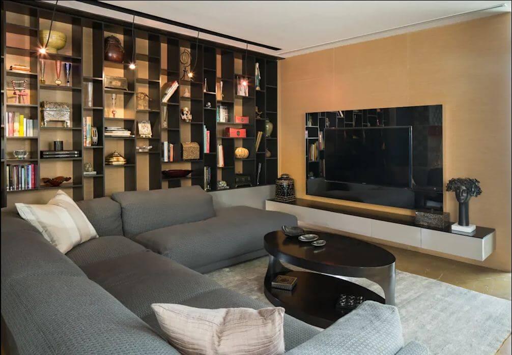 Kệ TV sang trọng cho phòng khách đẳng cấp - Kệ tivi phòng khách
