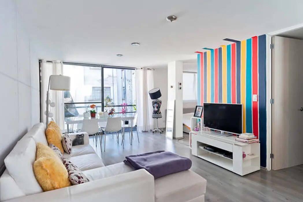 Kệ TV trắng, trẻ trung, hiện đại - Kệ tivi phòng khách