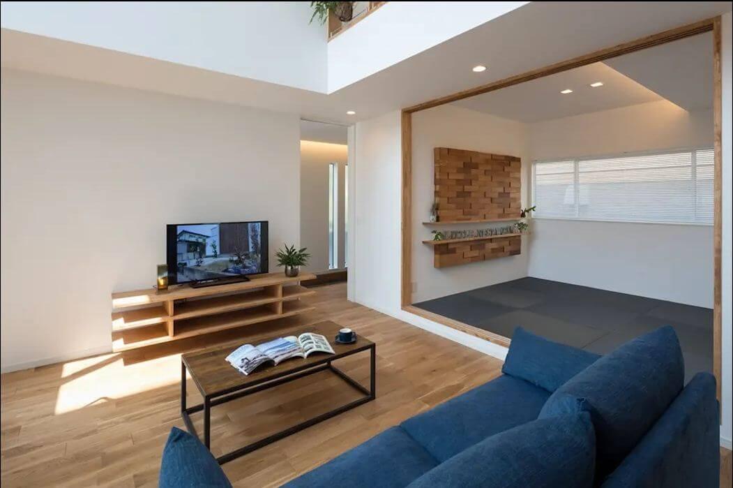 Kệ gỗ giản dị hiện đại cho không gian nội thất tối giản - Kệ tivi phòng khách