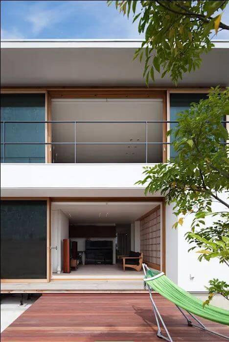 Thiết kế thư giãn - Nhà Nhật 2 tầng