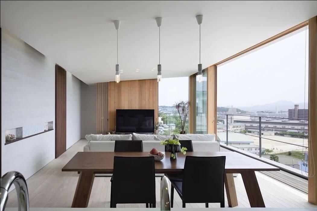 Tầm view Panorama độc đáo - Nhà Nhật 2 tầng