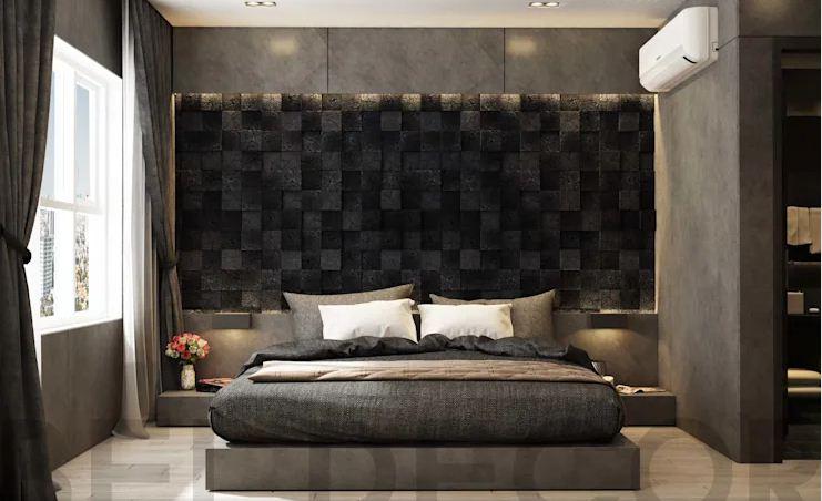 Phòng ngủ Master - Căn hộ cao cấp - 1
