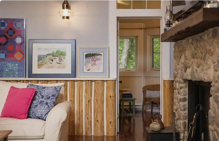 Phòng khách rộng rãi - Ngôi nhà đồng quê - 2