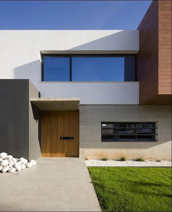 Thiết kế mặt đứng hiện đại - Kiến trúc nhà đẹp 2 tầng - 1