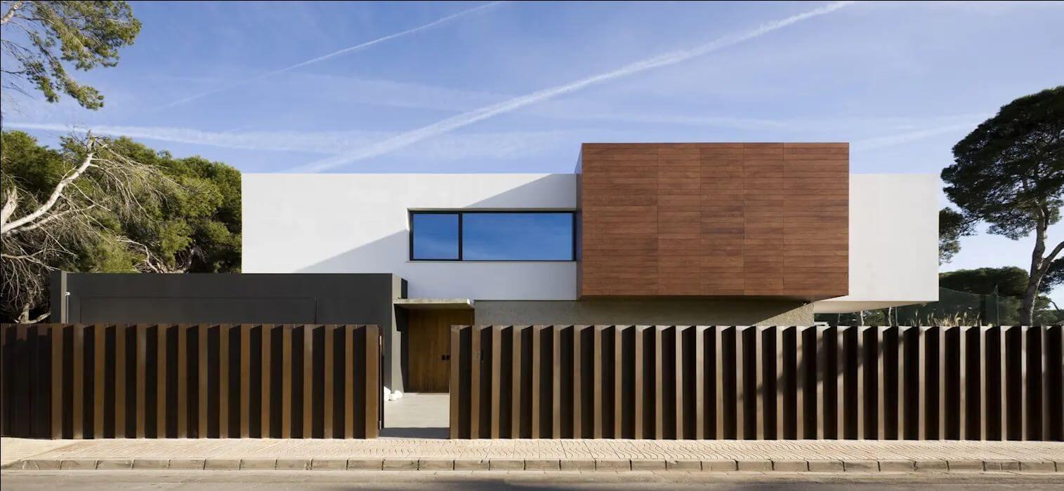 Thiết kế mặt đứng hiện đại - Kiến trúc nhà đẹp 2 tầng